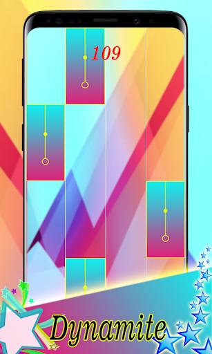 BTS - Dynamite ud83cudfb9 Piano game 2.0 Screenshots 2