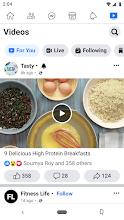 Facebook Lite screenshot thumbnail