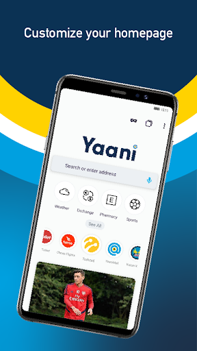 Yaani : Turkey's Web Browser 7.0.1 screenshots 1