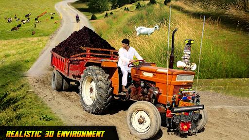 Tractor Trolley Drive Farming Simulator Game 2021 1.7 screenshots 2