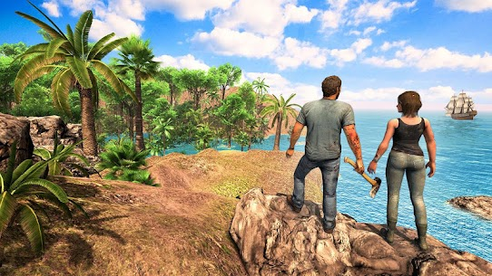 Survival Games Offline free: Island Survival Games 4