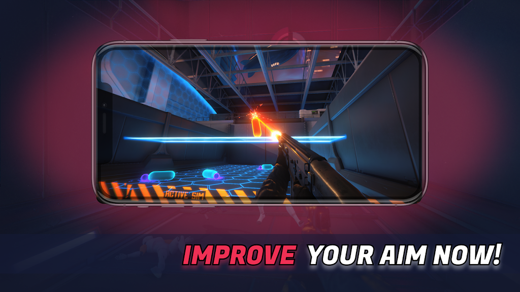 3D Aim Trainer - Shoot Like A Pro Gamer! poster 1