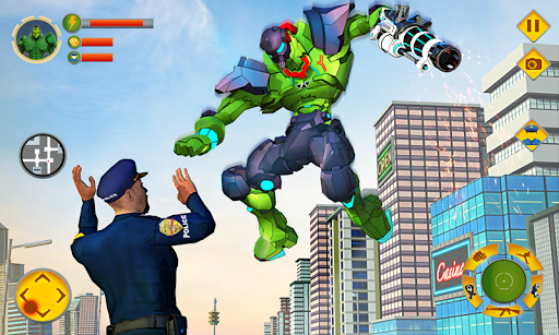 Incredible Monster Robot Hero Crime Shooting Game apkmartins screenshots 1
