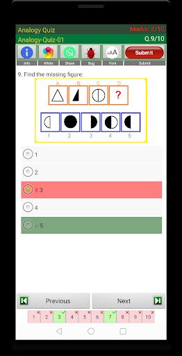 analogy quiz screenshot 3