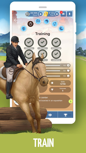 Howrse - free horse breeding farm game 4.1.6 screenshots 4