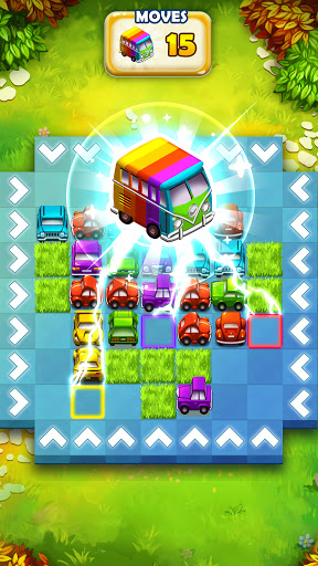 Traffic Puzzle - Match 3 & Car Puzzle Game 2021 android2mod screenshots 5