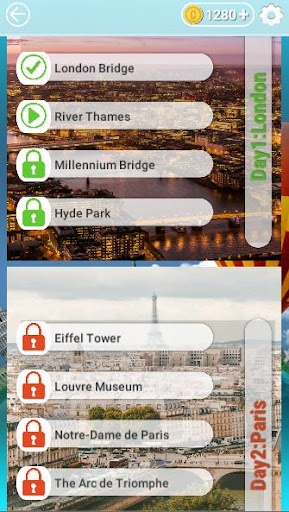 Word Travel:World Tour via Crossword Puzzle Game 3.42 screenshots 5