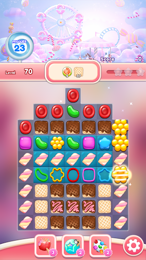 Candy Go Round - #1 Free Candy Puzzle Match 3 Game 1.4.1 screenshots 5