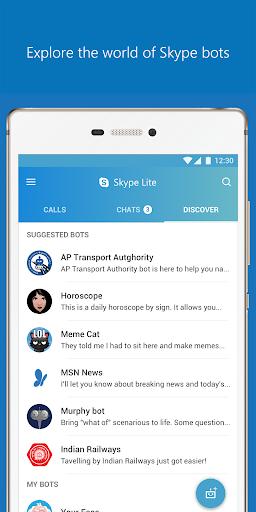 Skype Lite - Free Video Call & Chat 1.84.76.1 Screenshots 7