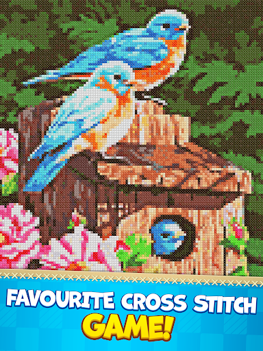 CROSS-STITCH: COLORING BOOK modavailable screenshots 8