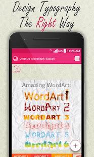 Creative Typography Design 3.9 Screenshots 5