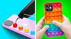 ポップして シンプル ディンプル: そわそわ おもちゃ 満足 ゲームのおすすめ画像3