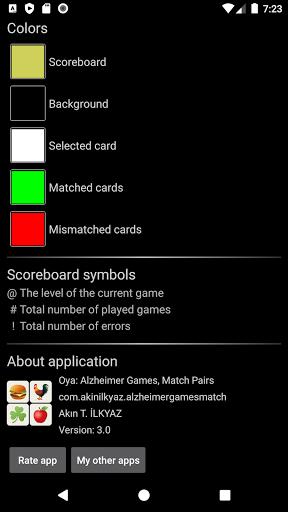 Oya: Alzheimer Games, Match Pairs  screenshots 7
