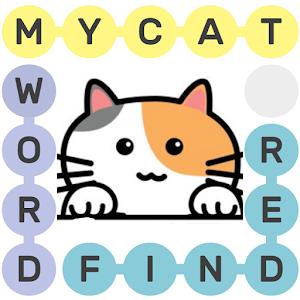 Cat Word Finder Puzzle