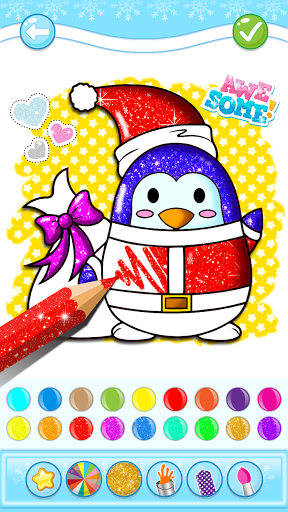 Christmas Coloring Game - Learn Colors  screenshots 4