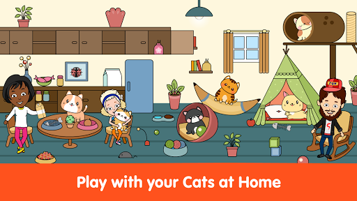 My Cat Townud83dude38 - Free Pet Games for Girls & Boys android2mod screenshots 11