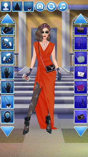 Fashion Videoblogger Makeover - Dress Up & Makeup screenshots 8