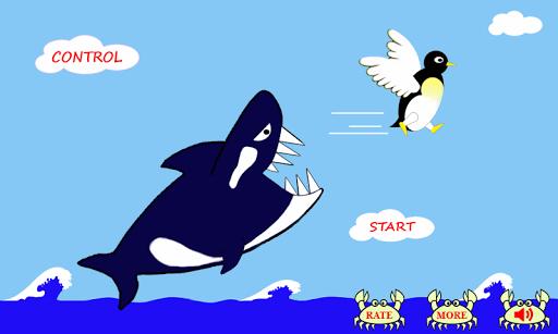 penguin fly! : relaxing game screenshot 1
