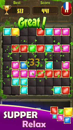 Code Triche Block Puzzle Game: Puzzle En Bois, Woodoku (Astuce) APK MOD screenshots 2