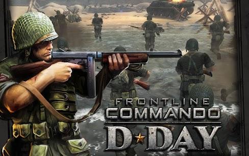Frontline Commando: D-day MOD APK 2021 [Unlimited Money/Gold/OBB] 1