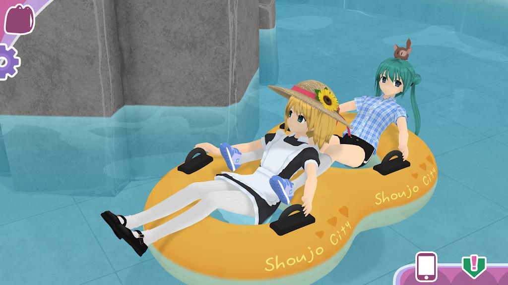 Shoujo City 3D Mod poster 3