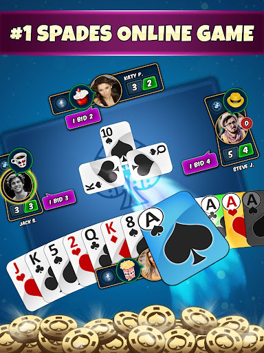 Spades Online - Ace Of Spade Cards Game 7.0 screenshots 8