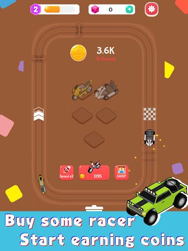 Merge Car Racer - Idle Rally Empire  screenshots 7