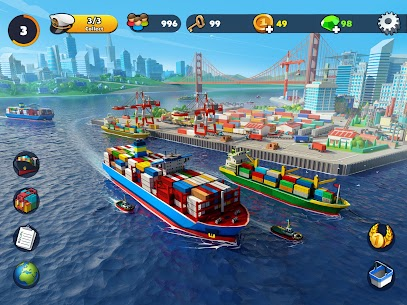 Free Port City  Ship Tycoon Apk Download 2021 2