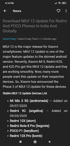 MIUI Updates 1.1 Screenshots 2