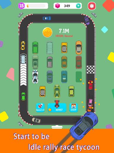 Merge Rally Car - idle racing game  screenshots 15