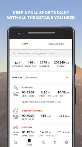 Sports Tracker Running Cycling apktram screenshots 6