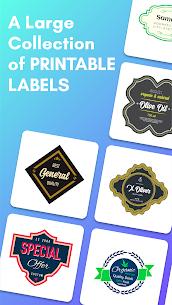 Label Maker & Creator Pro Apk: Best Label Maker Templates (Pro Features Unlocked) 9