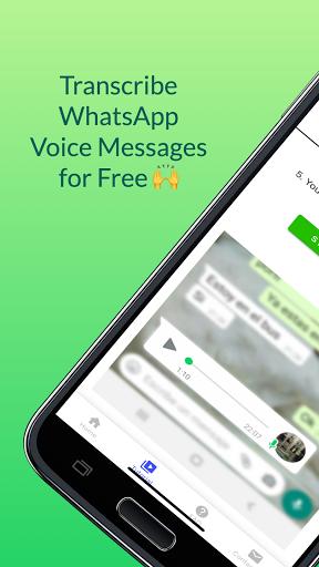 Audio to Text for WhatsApp Transcriber Translator  screenshots 1