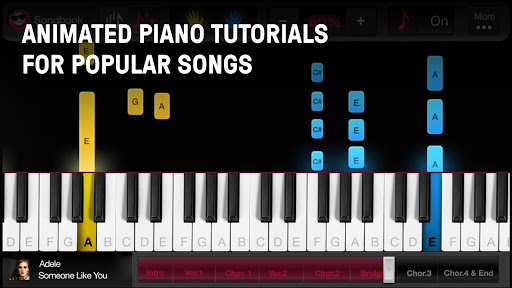 OnlinePianist - Free Piano Lessons for Songs  Screenshots 1