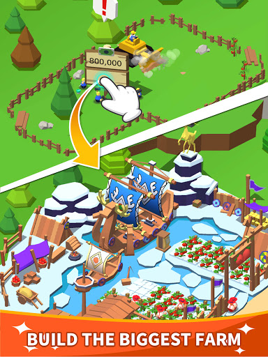 Idle Leisure Farm - Cash Clicker screenshots 6