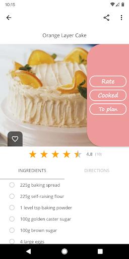 Cake and Baking Recipes  screenshots 3