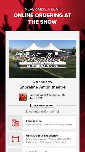 Live Nation At The Concert apktram screenshots 3