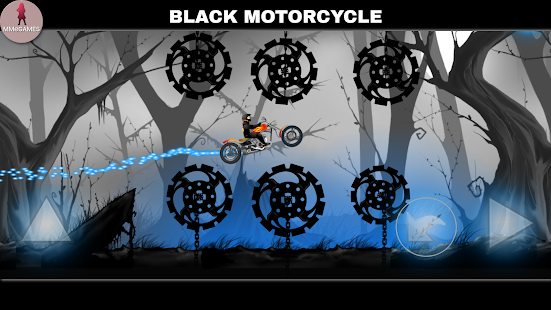 Black Motorcycle Screenshot