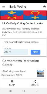MoCo Voters App 1.0.9 Screenshots 2