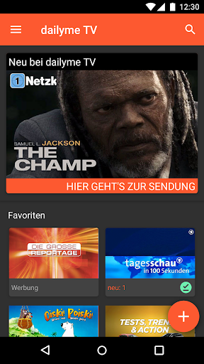 dailyme TV, Serien, Filme & Fernsehen TV Mediathek  screenshots 2