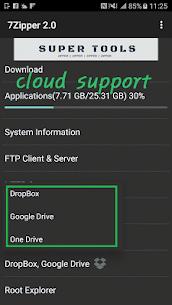 7Zipper 2.0 – Local and Cloud File Explorer Mod 2.9.35 Apk [Ad Free] 2