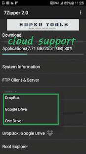 7Zipper 2.0 – Local and Cloud File Explorer