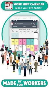 Work Shift Calendar 2.0.4.8 (Pro) (Mod Extra)