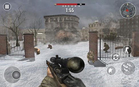 World War 2 Winter Heroes Mod Apk (Dumb Enemy/God Mode) 5