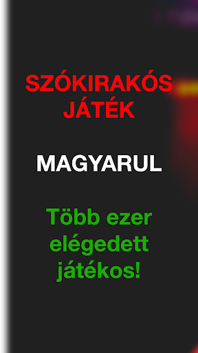 Szu00f3kiraku00f3s Ju00e1tu00e9k: Szu00f3keresu0151 Magyar Keresztrejtvu00e9ny Screenshots 1