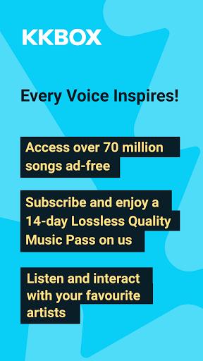 KKBOX | Music anytime, anywhere apktram screenshots 1