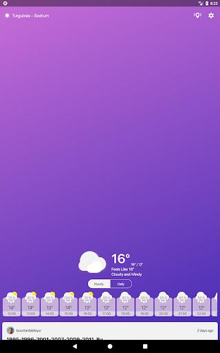 Buluttan - Weather of Turkey 2.6.0 Screenshots 6