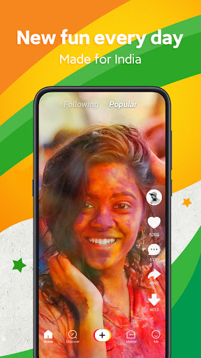 Zili - Short Video App for India | Funny android2mod screenshots 1