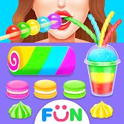 ASMR Rainbow Dessert Maker – Fun Games for Girls