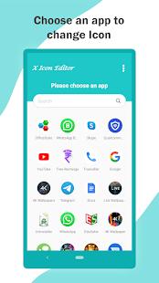 X Icon Editor (Customize App icon & Shortcut) 1.1.5 Screenshots 2